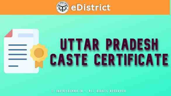 UP Caste Certificate