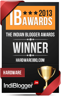 IBAwards 2013 Winner for 'Hardware' under 'Technology'