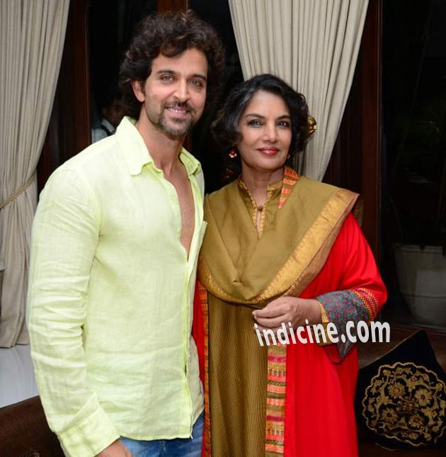 Image result for shabana azmi and hrithik