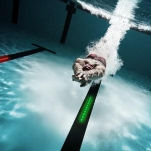 start virtual swim trainer
