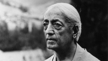 A Note On Krishnamurti