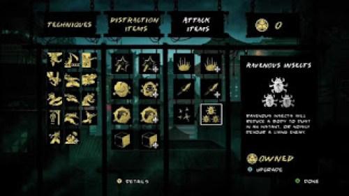 Mark of the Ninja In Game
