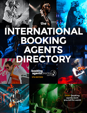 International Booking Agents Directory cover scan