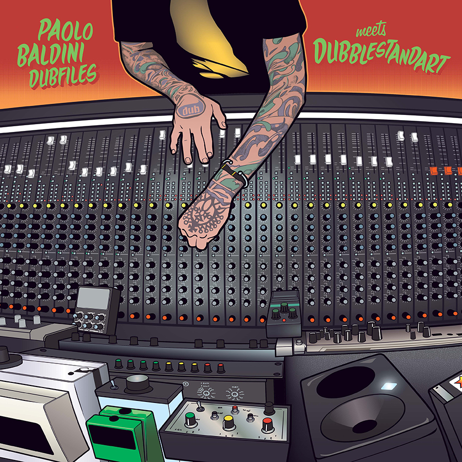 Paolo Baldini DubFiles meets Dubblestandart Dub Me Crazy; Released 6/23/20