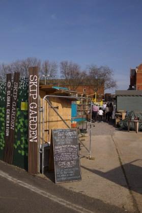 Kings Cross Skip Garden