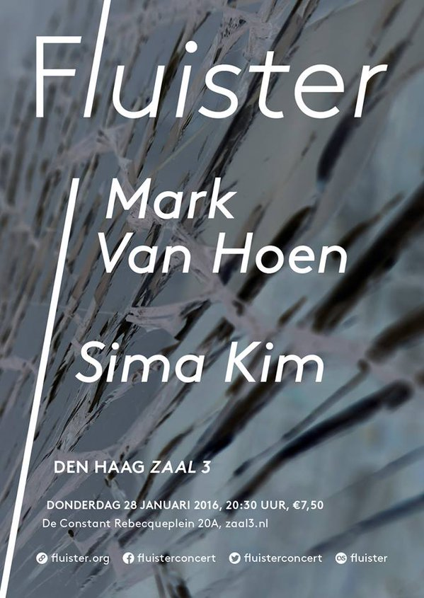 Fluister: Sima Kim @ The Hague, The Netherlands