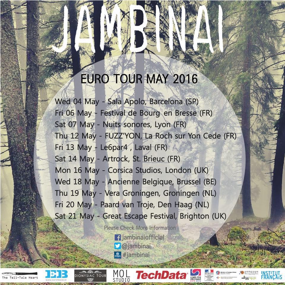 Jambinai – Euro Tour 2016
