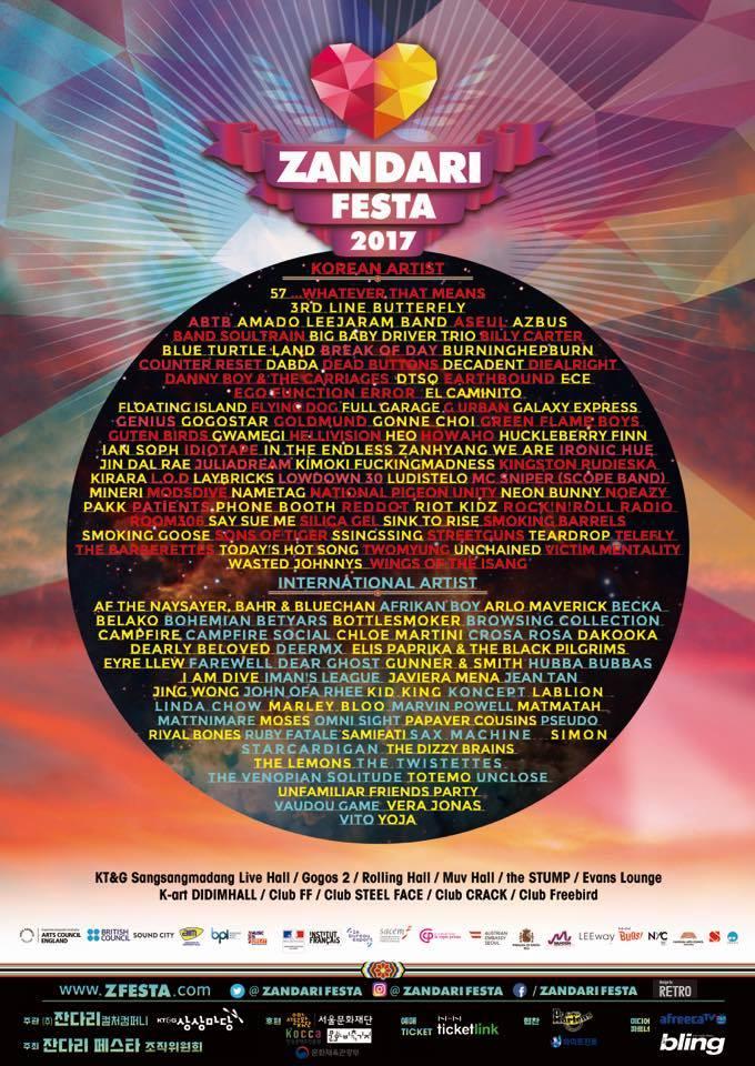 5 Must-See Acts at Zandari Festa 2017