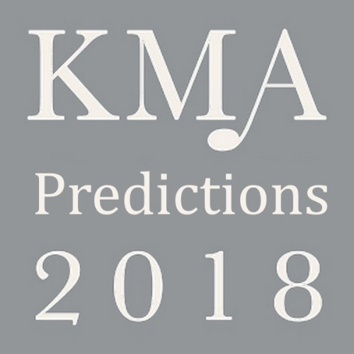 KMA Predictions 2018