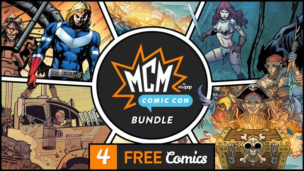 FREE: MCM ComicCon Comics Bundle