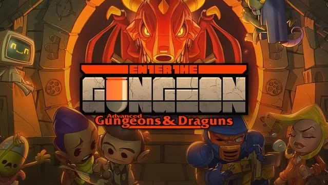 Enter the Gungeon is a bullet hell dungeon crawler following a band of misfits seeking to shoot, loot, dodge roll and table-flip their way to personal absolution by reaching the legendary Gungeon's ultimate treasure: the gun that can kill the past.