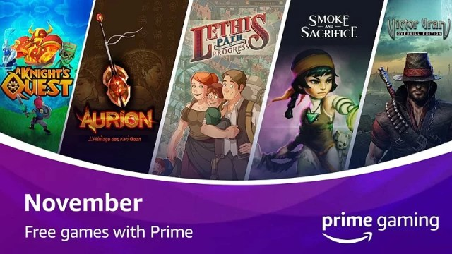 Free games with Amazon Prime Gaming for November 2020
