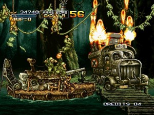 metal slug 3 for XBLA - gameplay