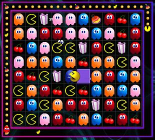 Pac-Match celebrates Pac Man 30th Anniversary with a tile based puzzle game from NAMCO
