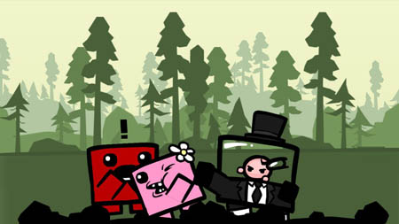 Super Meat Boy - Screenshot 1