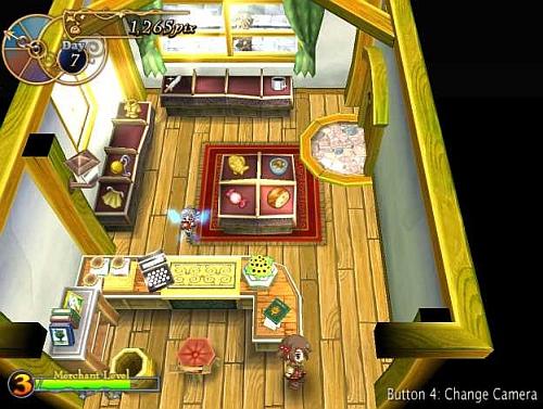 Recettear shop interior screenshot