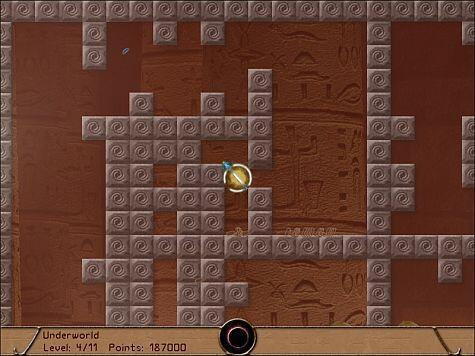 Bennu game screenshot - oops
