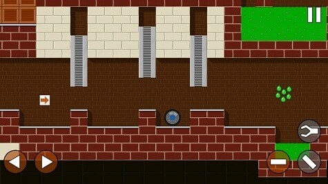 Radius game fro Android review - this factory manufactures acid pools.