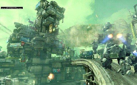 hawken screenshot - desert gameplay trailer