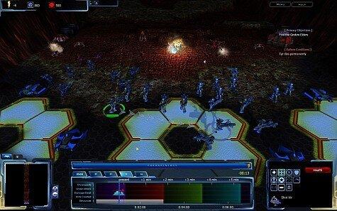 achron screenshot - grid