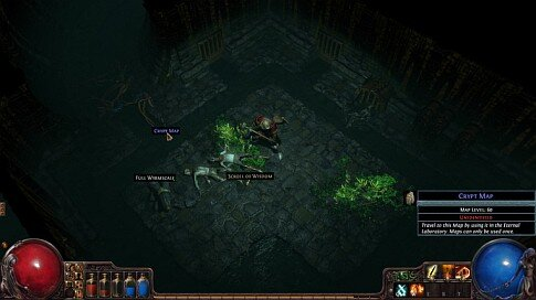 Path of Exile - Sewer Map screenshot