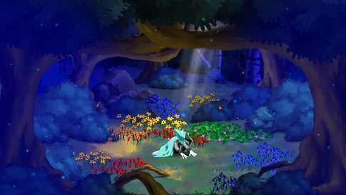 Dust: An Elysian Tail for XBLA - forest grove screenshot