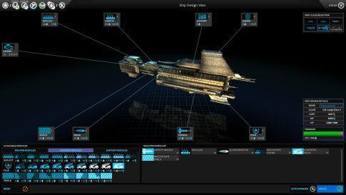 endless space ship design