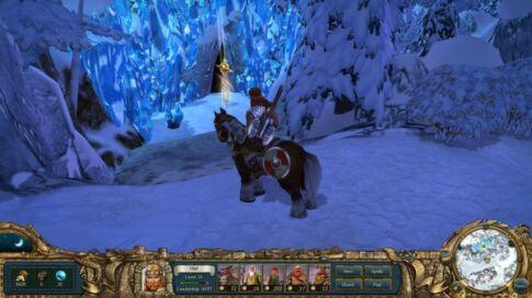 kings bounty warriors of the north - winter screenshot