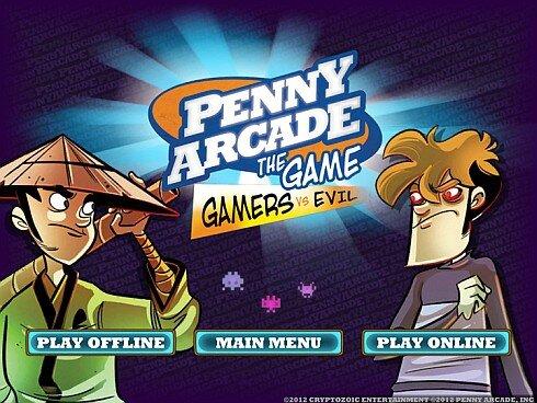 Penny Arcade deck building game