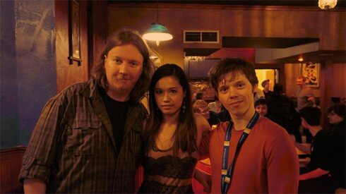 From left to right: Sound engineer/programmer, 3D game artist/writer, and student programmer. Oskar Pruski, Tanya Kan, and Ian Nastajus. How do we know each other? Jams and workshops, although each of us got our game development education through different universities and colleges.