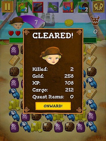 Scurvy Scallywags - Stats screenshot