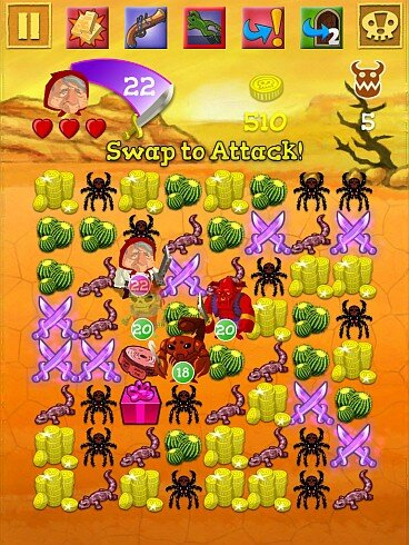 Scurvy Scallywags - monsters galore - Screenshot