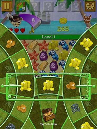 Scurvy Scallywags screenshot- spin that wheel
