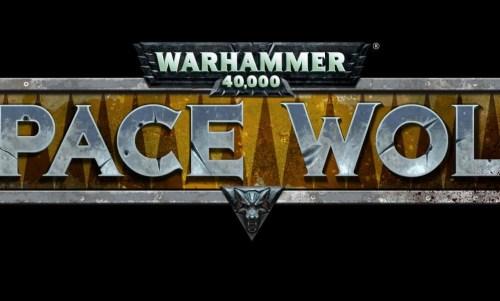 Warhammer Spacewolf Title Art