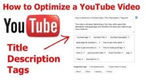 Tags pour vidéos Youtube
