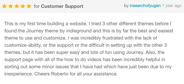 Journey - Personal WordPress Blog Theme - 16