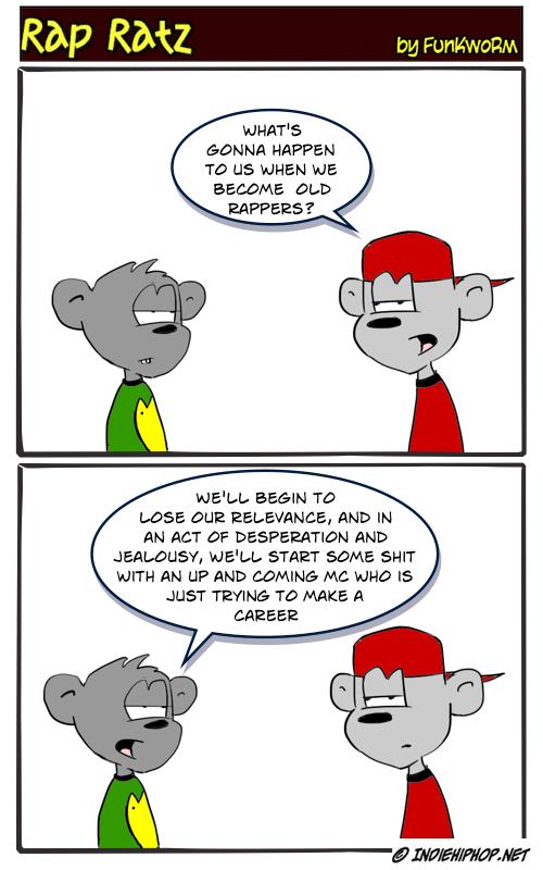 Indie Hip Hop Cartoon