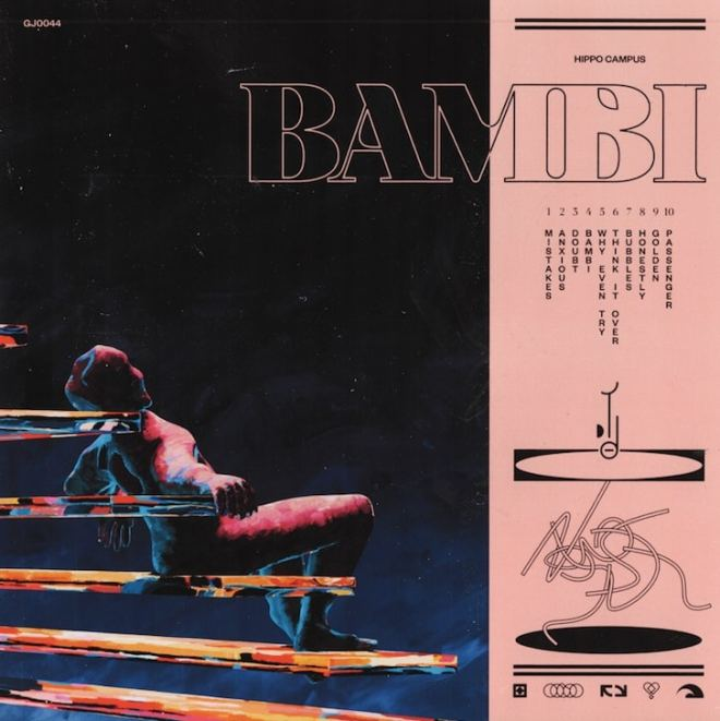 Hippo Campus Bambi cover artwork