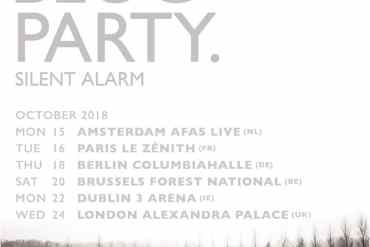Bloc Party to play 'Silent Alarm' in full on UK & EU tour