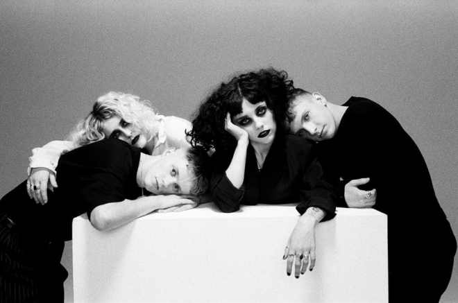 Pale Waves press shot by Danny North for New Year's Eve EP