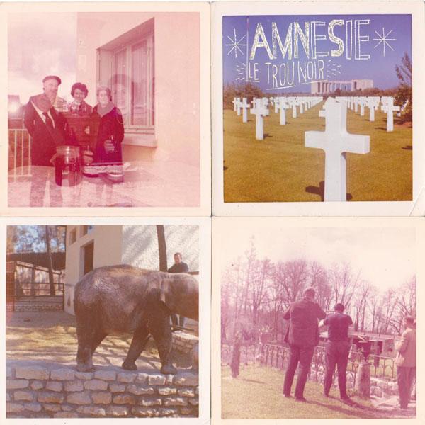 Amnésie - Le Trou Noir LP