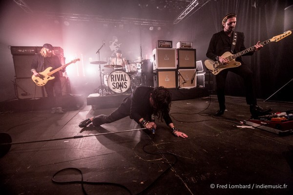Rival Sons par Fred Lombard
