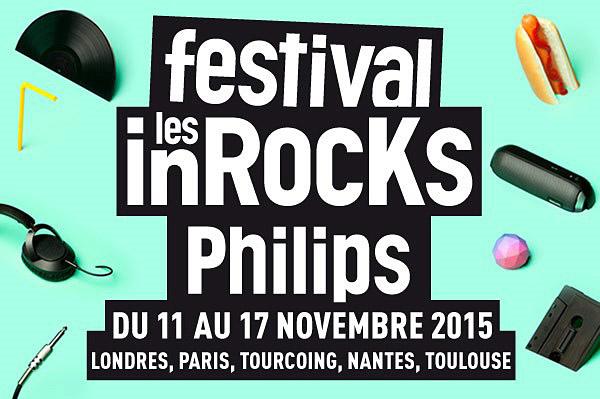Festival les inRocKs Philips 2015