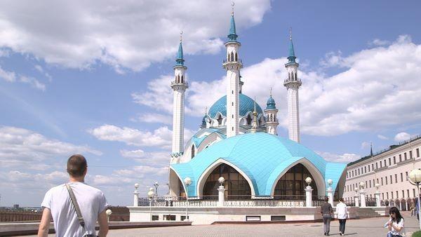 William et la mosquée de Kazan