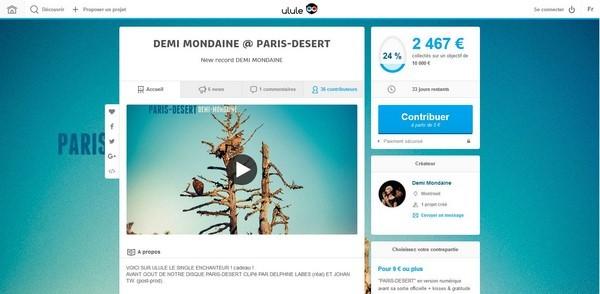 Demi Mondaine - Campagne Ulule