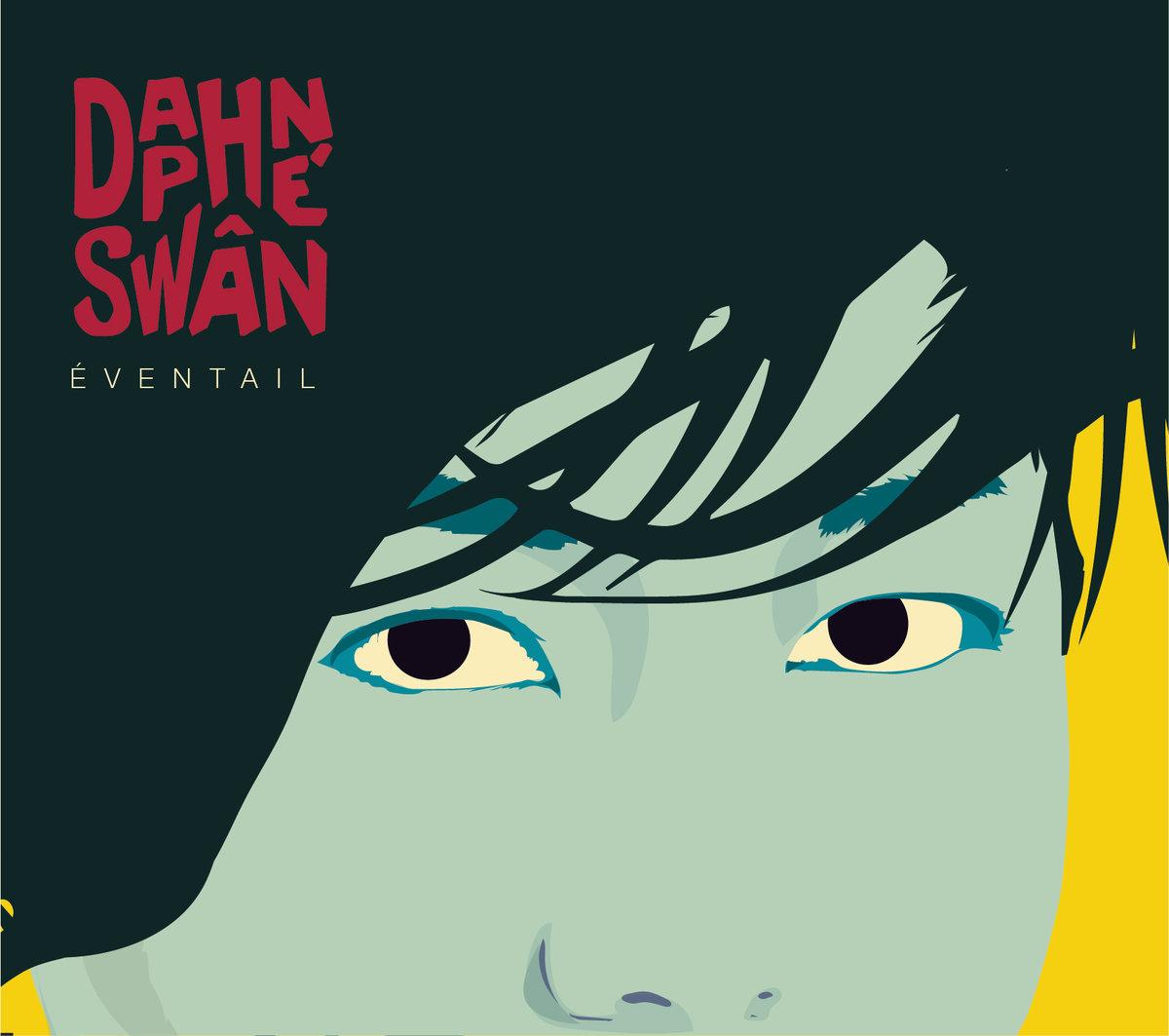 Daphne Swan Eventail