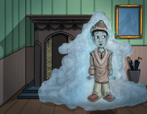 Man in Smoke