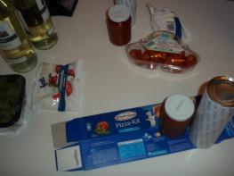 Il famigerato pizza kit..