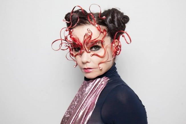 Björk transmite en realidad virtual/360º
