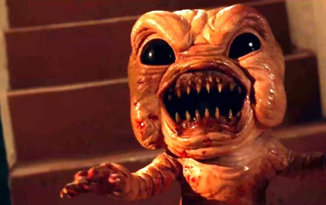 Review The Human Centipede Meets Gremlins With Grotesque Horror Comedy Bad Milo
